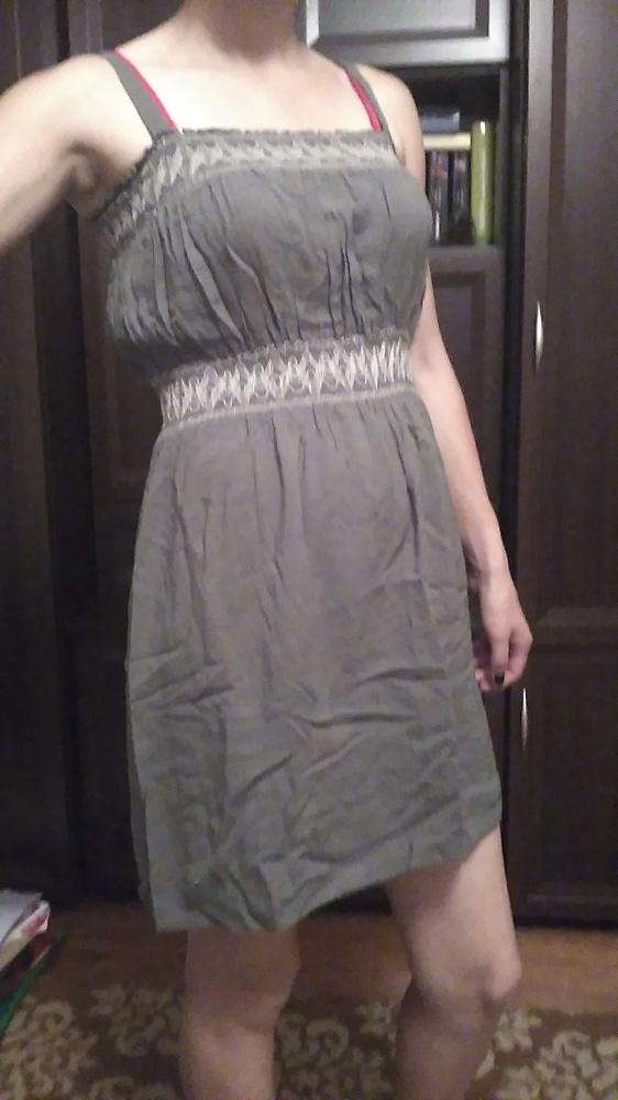 Suknie i sukienki sukienka zgniły zielony