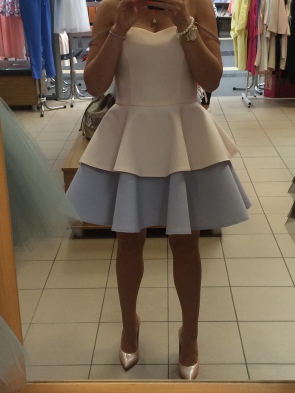 Sukienka piankowa