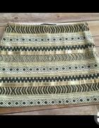 ZARA spódniczka mini aztec cekiny...