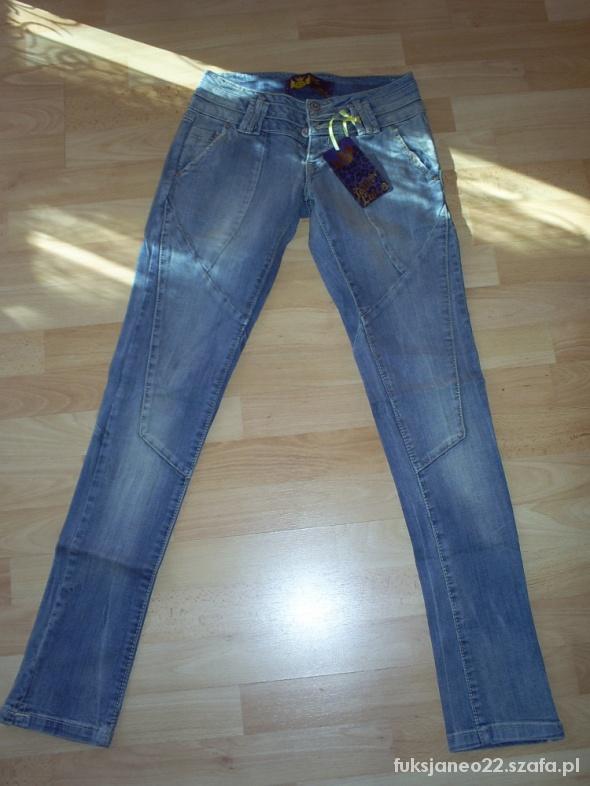 Spodnie jeansowe Cropp
