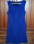 RIVER ISLAND elegancka sukienka L 40 niebieska...