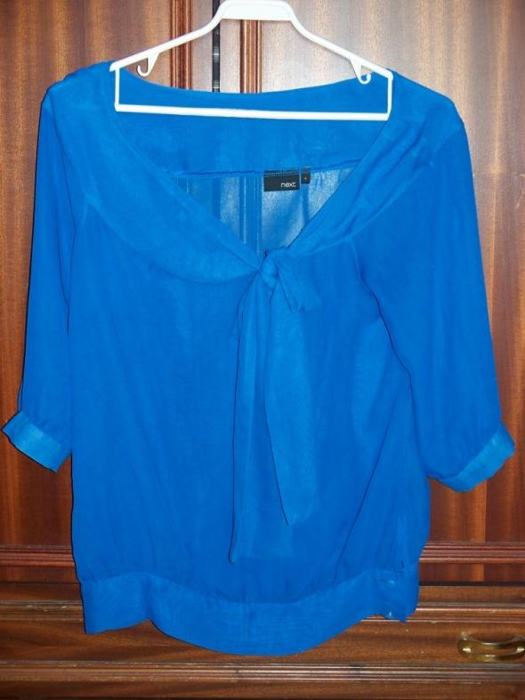NEXT Bluzka damska mgiełka M 38 niebieska...