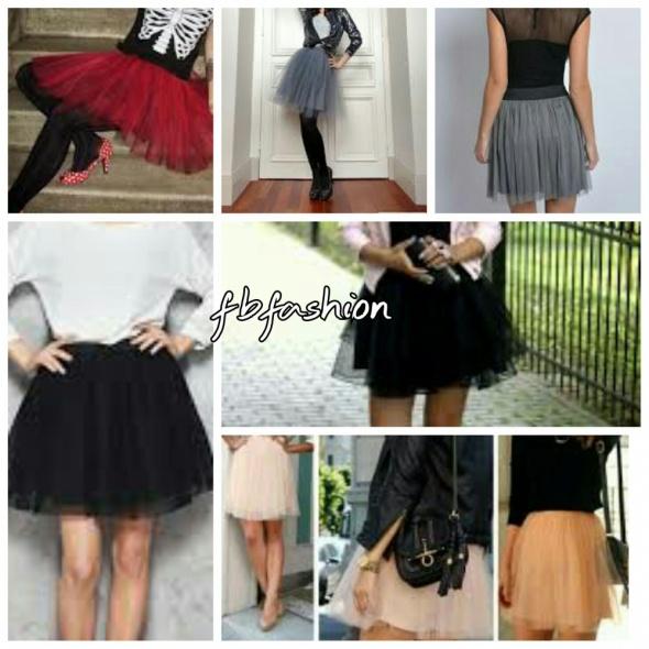 Tiulowe spódniczki idealne na wiosnę S M i L