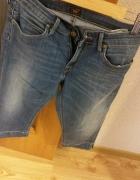 krótkie jeansy na lato rozmiar S Lee...