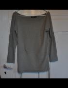ONLY szara bluzka bluza ściągacze M...