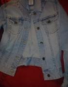 kurtka jeansowa s m