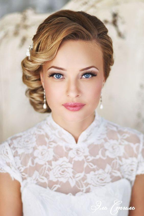 Cudowny ślubny makijaż