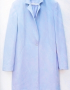 Cudowny elegancki płaszcz baby blue 40 42 hit...