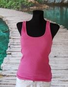 Koszulka Na Ramiączkach Fishbone Różowa S M Yorker