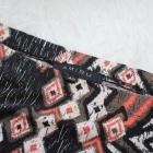 Etniczna mini spódniczka