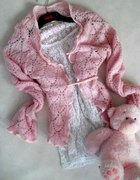 sexi różowy sweterek...