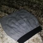 Zara spódniczka 34 XS melanż na gumie zakładki