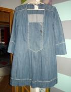 Super sukienka jeansowa roz 42