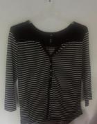 bluzka w paski H&M