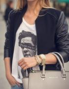 bluzka z nadrukiem Anonymous CLTH...