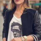 bluzka z nadrukiem Anonymous CLTH