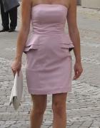 Przecudna sukienka H&M pudrowy róż...