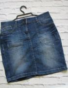 Jeansowa spódnica stylowa 38...