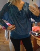 Bluzka niebieska