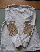 modna bluzeczka w łaty dla chłopca 116cm