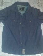modna koszula H&M dla chłopca 116 cm