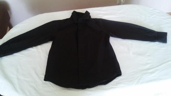 Bluzki koszula czarna dla chłopca 110 cm