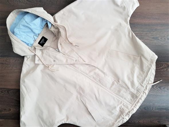 Odzież wierzchnia Kurtka Reserved oversize obszerna z kapturem