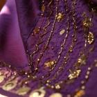 Mango maxi spódnica orientalna indie fiolet złoto