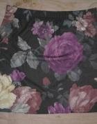 Spódnica mini kwiaty