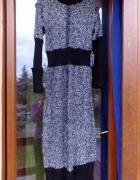 Ciepła długa sukienka uniwersalna