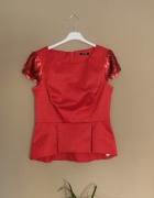 Orsay czerwona bluzeczka