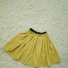 Spódnica żółta rozkloszowana