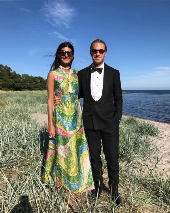 Eleganckie Wyjątkowo piękna suknia