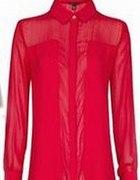 MANGO Piękna czerwona koszula JAK NÓWKA L