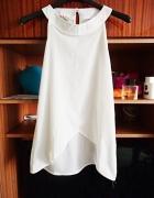 Koszula biała śnieżna asymetryczna