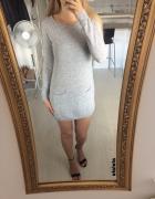 Northland długi sweterek tunika wełna kaszmir