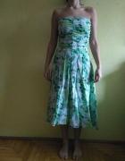 Sukienka zielona rozmiar 40 UK12