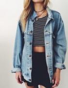 katana jeansowa oversize...