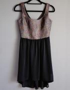 asymetryczna sukienka reserved