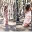 Sukienka maxy w kwiaty
