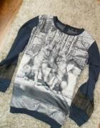 Nowa bluza 3D siatka HIT JESIENI
