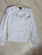 Reebok 2w1 Biała bluzka top koszulka bokserka 38 M...