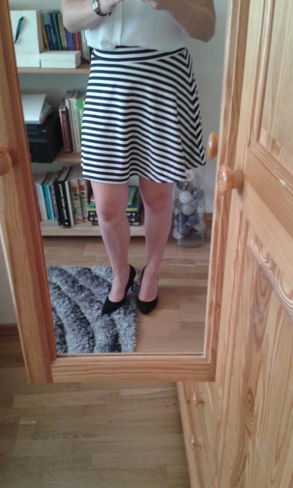 Spódnice spódnica marynarski styl pasy