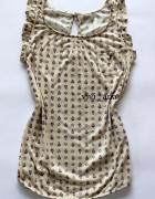 bluzka z kieszonką Pull&Bear motylek S XS