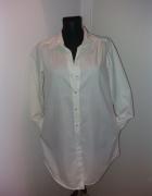Biała długa koszula r M