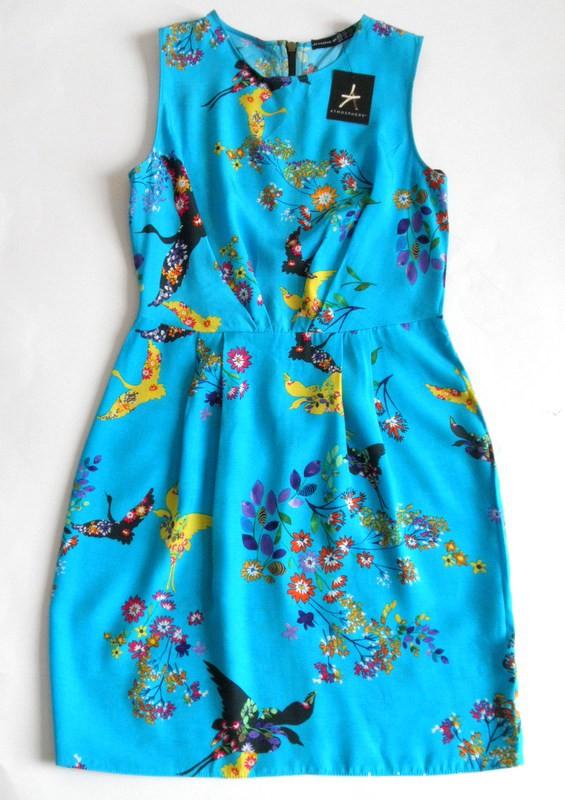 nowa zwiewna sukienka niebieska 36 Atmosphere...
