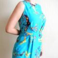 nowa zwiewna sukienka niebieska 36 Atmosphere