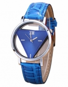 Zegarek damski trójkąt niebieski...