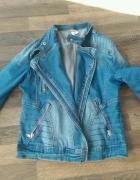 cudna kurtka jeansowa