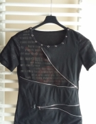 czarna koszulka vkei visual kei